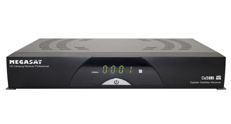 Hersteller Megasat aus der Rhön stellt den neuen HD Camping Receiver Professional zum Preis von 149,90 Euro vor.