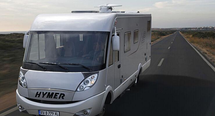 Hymer B-XL Deutscher Camping-Club DCC Messe Stuttgart DCC Sicherheitspreis wohnmobil reisemobil
