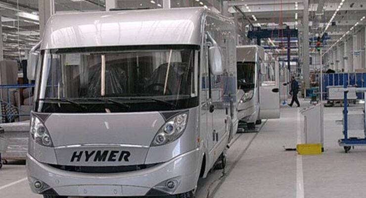 Hymer Jahresbilanz 2009 Wohnmobil Reisemobil Caravan Wohnwagen