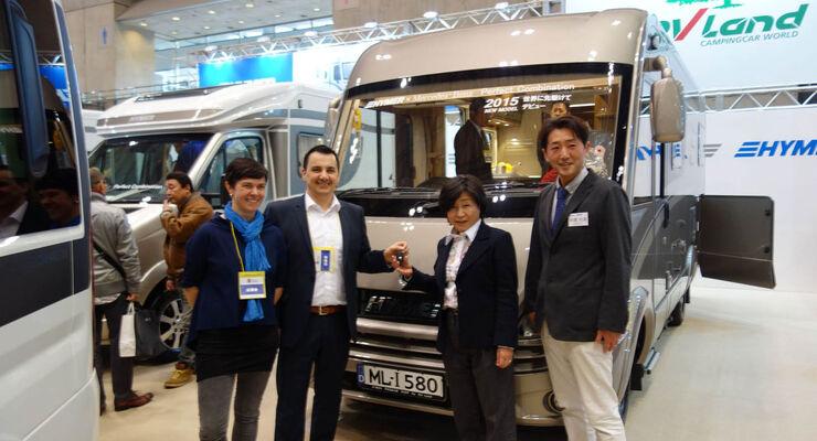 Hymer Japan Camping Car Show