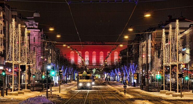 Hymer-Reisetipp: Mit dem Reisemobil zur Weihnachtszeit in die Lichterstadt Göteborg – von Kiel nach Göteborg mit Stena Line.