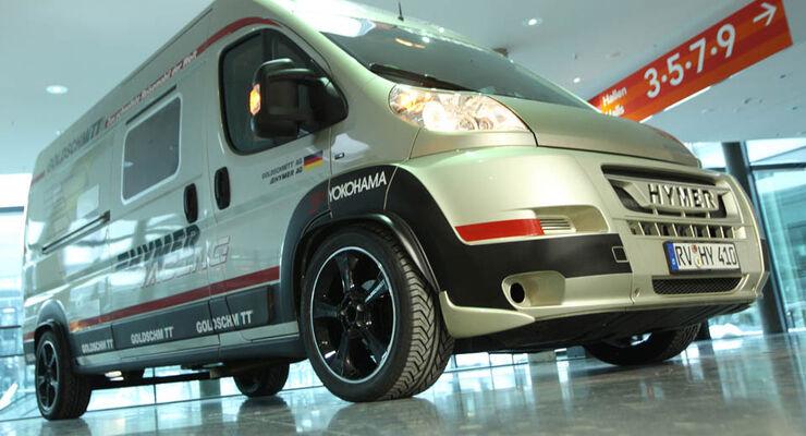 Hymercar mit Goldschmitt-Gas-Power