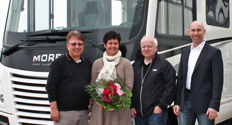 Ihr Sohn ist auf dem direkten Weg zum 4. Weltmeistertitel. Heike und Norbert Vettel reisen ab sofort in ihrem neuen Morelo Loft 82 LBX.