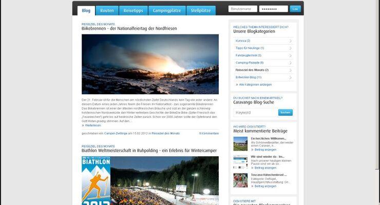 Im Januar 2012 hat die Camping-Community auf www.caravango.de ihren ersten Geburtstag gefeiert