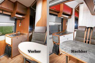 Tipps und Tricks zur Möbel-Folierung: Schneiden, legen ...
