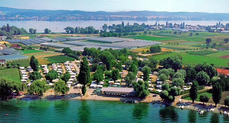 Insel Camping  Sandseele Ecocamping Reisemobil