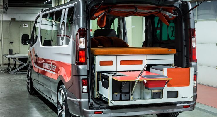 irmscher campingbus sondermodell opel vivaro liner 68. Black Bedroom Furniture Sets. Home Design Ideas