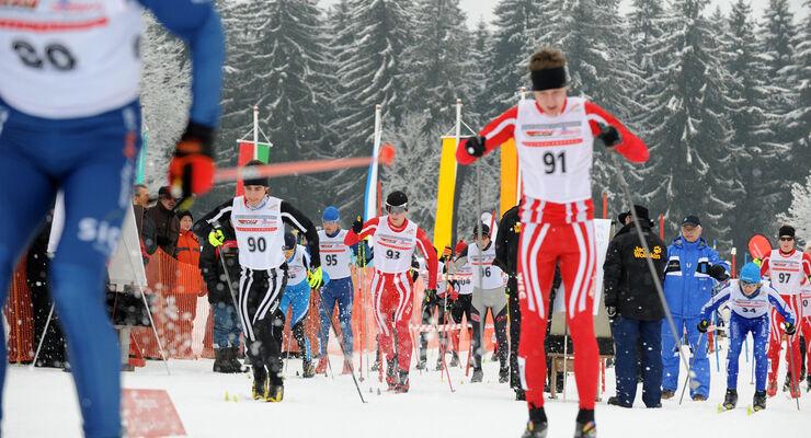 Isny deutsche Skilanglauf Meisterschaft 2014