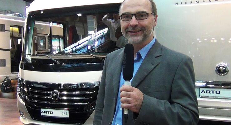 Jürgen Bartosch stellt den neuen N+B Arto vor