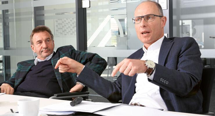 Karl-Heinz Schuler und Bernd Wuschack