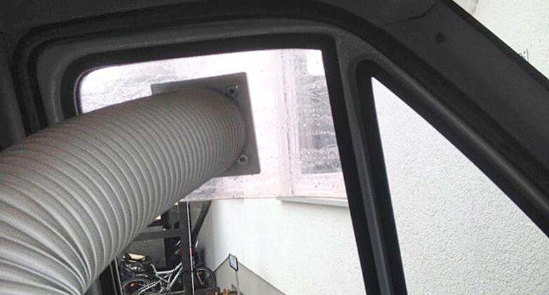 Klimaanlagen-Entlüftung