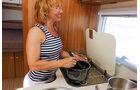 Kochnische im Carado T 341