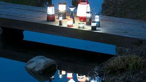 LED-Campinglampen