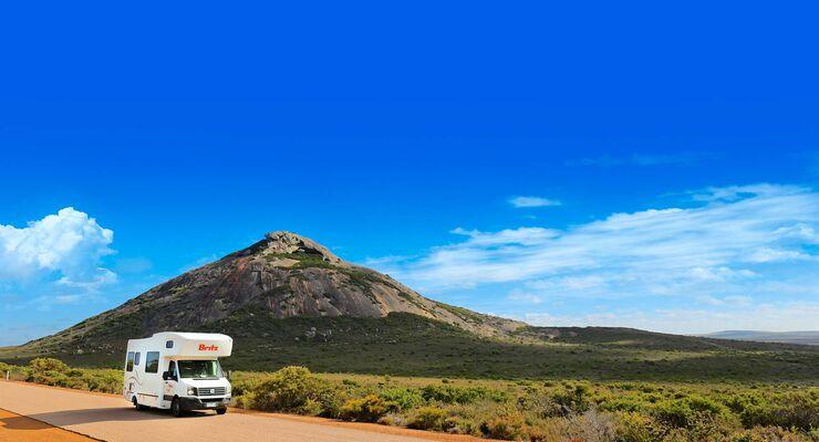 MT Westaustralien Gipfelkappe