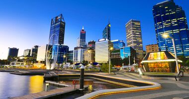 MT Westaustralien Skyline perth