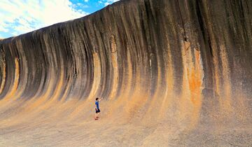 MT Westaustralien Wave Rock