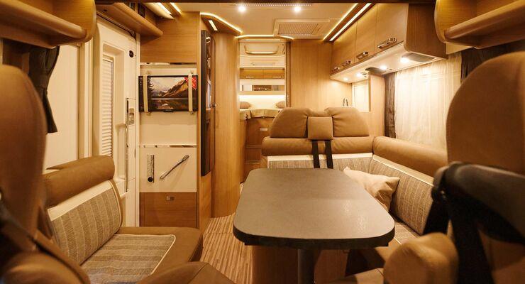 Wohnwagen Mit Etagenbett Und Französischem Bett : Ratgeber wohnmobil grundrisse welcher passt promobil