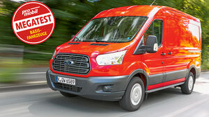 Megatest: Antrieb, Ford Transit