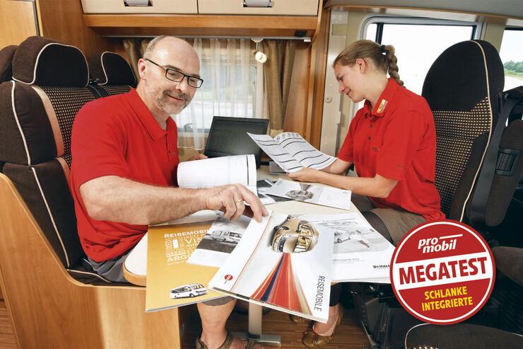 Megatest:Schlanke Integrierte, Preise und Ausstattung