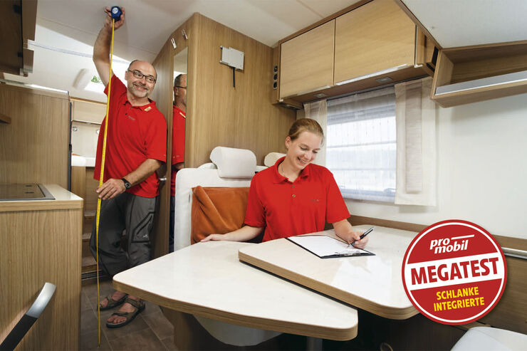 Megatest: Schlanke Integrierte Wohnkomfort
