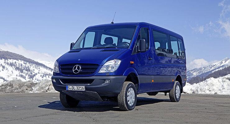 Mercedes Sprinter 4x4