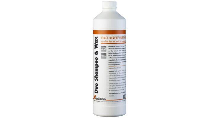 Mit den Certiman-Produkten kann man rechtzeitig vor der Reisesaison sein Fahrzeug gründlich reinigen und pflegen.