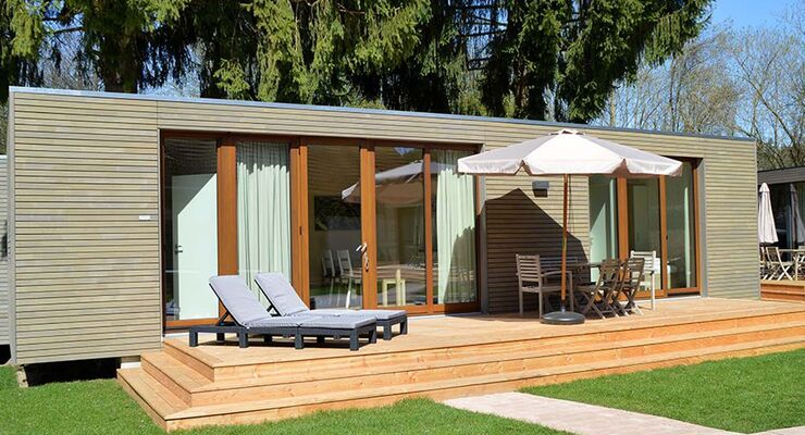 neue glamping mobilheime auf dem gitzenweiler hof promobil. Black Bedroom Furniture Sets. Home Design Ideas