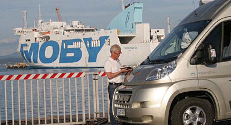 Moby Lines Korsika Fahrplan Wohnmobil reisemobil caravan wohnwagen