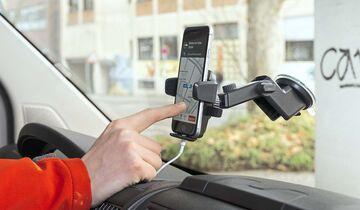 Navigations-Apps Halterung Inline