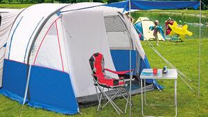 Neue Zelte mit Luftgestänge