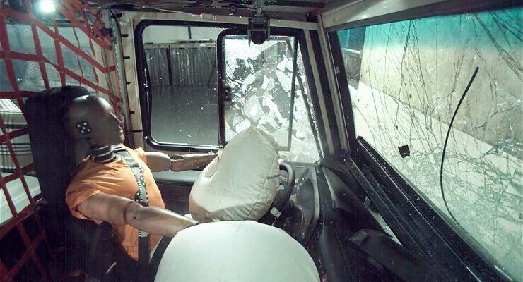 Niesmann Bischoff Wohnmobil Crashtest (2018)