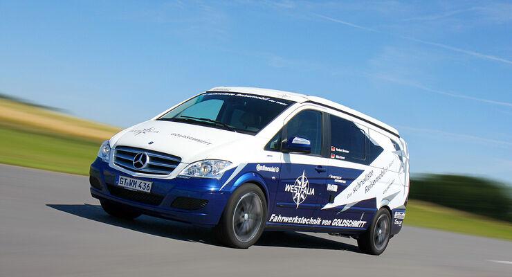 Norbert Brenner, achtfacher deutscher Meister im Bergrennen, stellte mit einem Reisemobil eine neue Bestmarke auf.