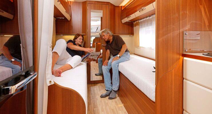 Perfekt zugänglich, bequem und angenehm groß: Verbinden lassen sich die Betten nicht