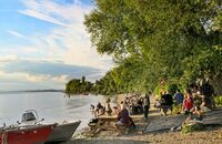 Picknick am Bodensee