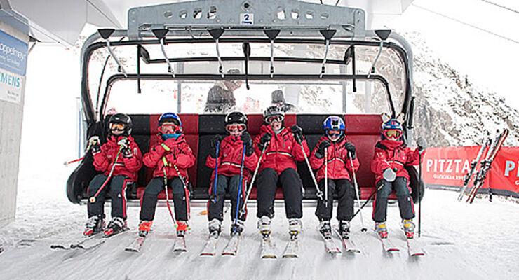 Pitztal Gletscherbahn Kinder Lift Wohnmobil Reisemobil Caravan Wohnanhänger