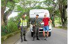 Popayán, Kolumbien: Kontrollen durch das Militär gehören zum Alltag.