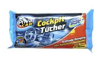 Priva-Car Cockpit-Tücher