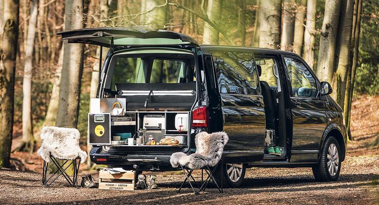 camping mit den passenden m bel modulen promobil. Black Bedroom Furniture Sets. Home Design Ideas