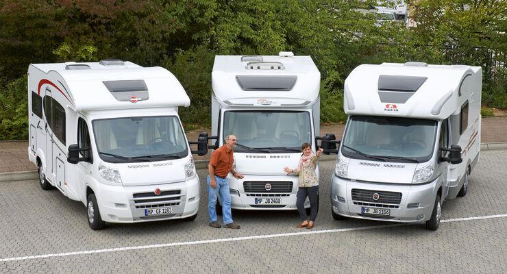 Wohnmobil Mit Etagenbett Und Festbett : Wohnmobil kauf tipp kompakte teilintegrierte mit hubbett promobil