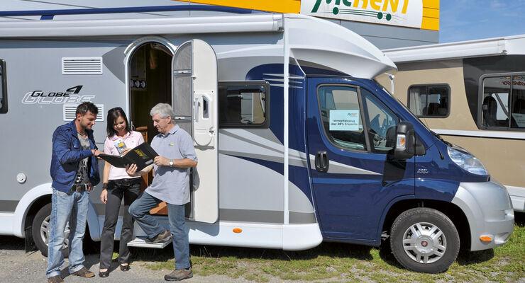 Ratgeber: Reisemobile mieten