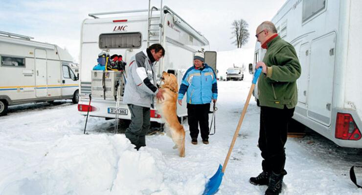 Ratgeber: Wintercamping, Reisemobile, Wohnmobile