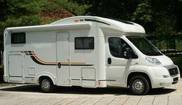 Reimo präsentiert den aufgewerteten Sun Living 2013, insbesondere den neuen M 46SP mit Hubbett.