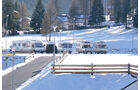 Reise-Service: Winter-Stell-/Campingplätze