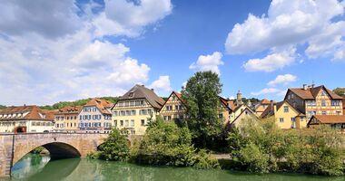 Reise in Württemberg: Jagst und Kocher