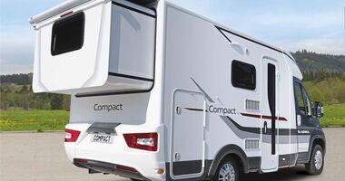 Reisemobil Adria Compact Plus SLS it Heckerker