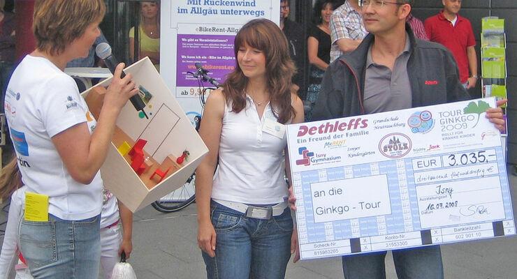Reisemobil Dethleffs Tour Ginkgo Christiane Eichenhofer Stiftung Klinikum Kempten Ruheraum Family Stiftung Campingplatz Grüntensee