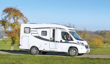 Reisemobil Hymer Van 374 Seitenansicht