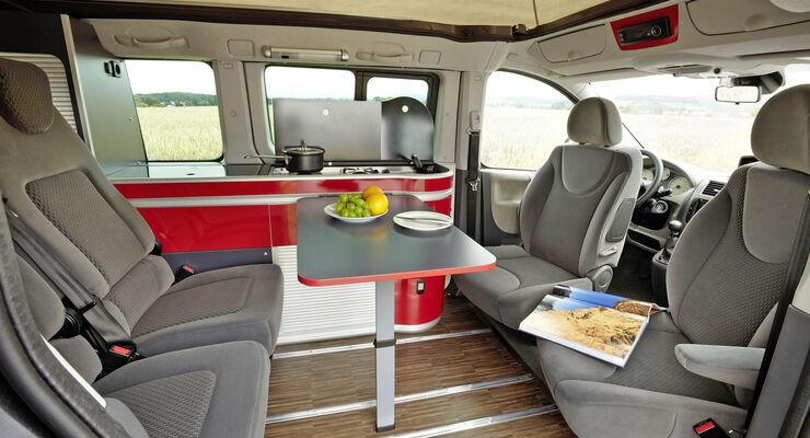 Reisemobil Westfalia Michelangelo Reise-Van Fiat Scudo