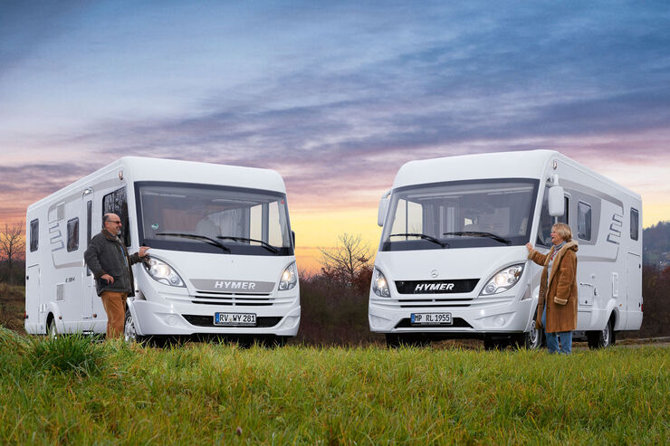 Reisemobile Hymer Exsis i und ML-I