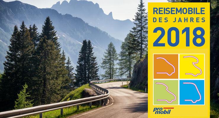 Reisemobile des Jahres 2018